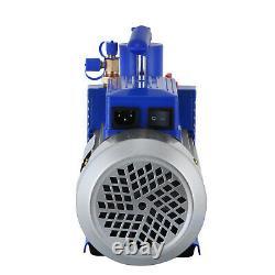 Pompe À Vide 12cfm 2 Étapes 1hp Deep Hvac Dual Stage Ac Conditioning