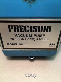 Pompe À Vide De Précision Modèle Dd20 0,7 Cfm 5 Micron