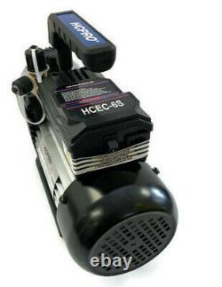 Pompe À Vide Hcpro Hcec-6s 6cfm, Étage Unique, Tension Unique 115v / 60hz /230w