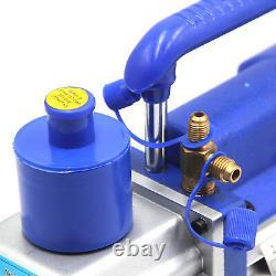 Pompe À Vide Hfs(r) 1/3 HP 3cfm 85l/min Double Étage 110v