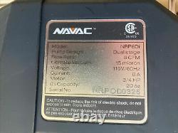 Pompe À Vide Intelligente Nrp8di 8 Cfm Navac