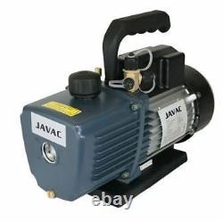 Pompe À Vide Javac Cc-141 5.3 Cfm Pour Climatisation Twin Stage Nouveau Ac0027/6