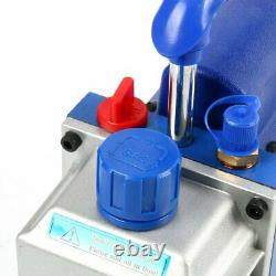Pompe À Vide Monophasée 3cfm 1/4hp Vane Rotative Deep CVC Ac Air Tool Ca Stock