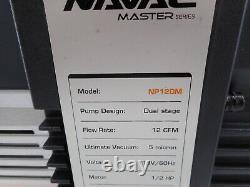 Pompe À Vide Navac Np12dm Master Series, 12 Cfm, 5 Microns, Inverter DC
