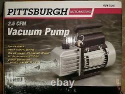 Pompe À Vide Pittsburgh Automotive 2.5 Cfm Ac Refrigeration 61245 Brand Nouveau