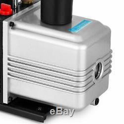 Pompe À Vide Profond Vane Rotatif Simple Étape 12cfm 1hp CVC Outil Climatisation