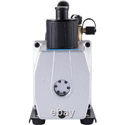 Pompe À Vide Vevor 5cfm 2 Étapes 1/2 HP Réfrigérant Rotatif Dégazage Du Vin 40miron