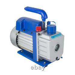 Pro 5 Gallon Vacuum Chamber&3 Cfm Pompe Monophasée Pour Le Dégazage De L'ensemble De Silicone Ce