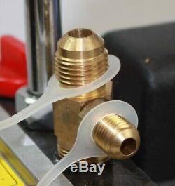 R410a R134a R22 4,8 Cfm Pompe À Vide Hvac A / C Réfrigérant With4valve Collecteur Gauge