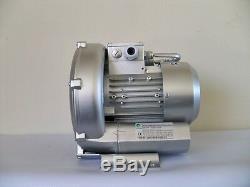 Récupération Souffleur 0.37hp 50cfm Presse 48h2o, 220 V / 1phase, Ventilateur À Canal Latéral