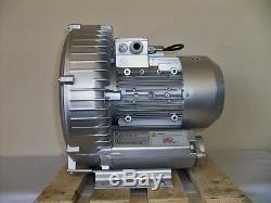 Récupération Souffleur 2.3hp 185cfm 68h2o Presse, 220 V / 1ph Refait Unité