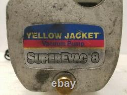 Ritchie Yellow Jacket 93580 Superevac 8 Cfm Pompe À Vide