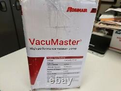 Robinair (15310) Vacumaster Single Stage Vacuum Pump Mono-stage, 3 Cfm