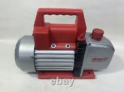 Robinair (15500) Vacumaster Economy Pompe À Vide 2 Étages, 5 Cfm, Rouge