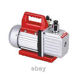 Robinair 15501 Vacumaster 5 Cfm Vacuum Pump, 1/3 Ch, 7,5 Oz, 220v