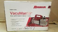 Robinair 15800 Vacumaster 8 Cfm Pompe À Vide 1 Ch 115v Nouveau