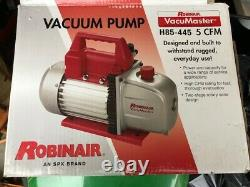 Robinair, H85-445 Pompe À Vide, 115 Volts, 5 Cfm 1/3 HP