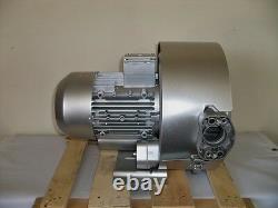 Souffleur Régénérateur 2.0hp 76cfm 160h2o Presse, 220 / 480v / 3ph, Souffleur De Canal Latéral