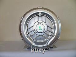 Souffleur Régénératif 1.1hp 103cfm 52h2o Presse, 220/480v/3ph Side Channel Blower