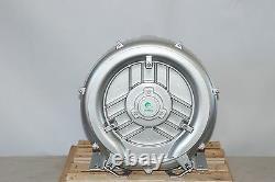 Souffleur Régénératif 2.0hp 150cfm 64h2opress, 220v/1phase, Side Channel Blower