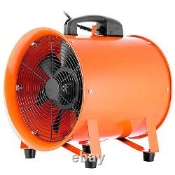 Souffleur Utilitaire 12 Pouces 0,7hp 2295 Cfm 3300 RPM Ventilateur Portable 0,7hp