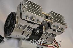 Twin Piston Oil-less Dry Run Vacuum Pump/compressor 5cfm Epoxy Cnc Table Médicale