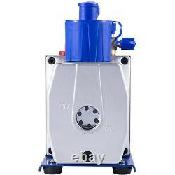 Vevor 7 Cfm Pompe À Vide 1/2 HP Vane Rotative De 250ml Outil D'air Électrique