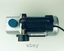 Weberaffichage Norman Single Stage 1 Stage 4 Cfm 1/3 HP Rotary Vane Vacuum P