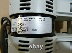 Welch 2561b-50 Laboratory Oil Free 1/3 HP Pompe À Vide Sec 115 V, 7.1 Cfm