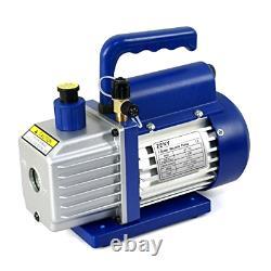 Zeny 4cfm 1/3hp Pompe À Vide Électrique Réfrigérant R410a R134a CVC Deep Vane Air